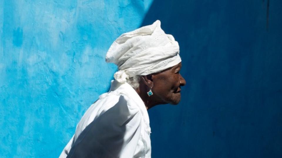 Mãe (Mother) Filhinha of Yemanjá-Ogunté, at 109 years